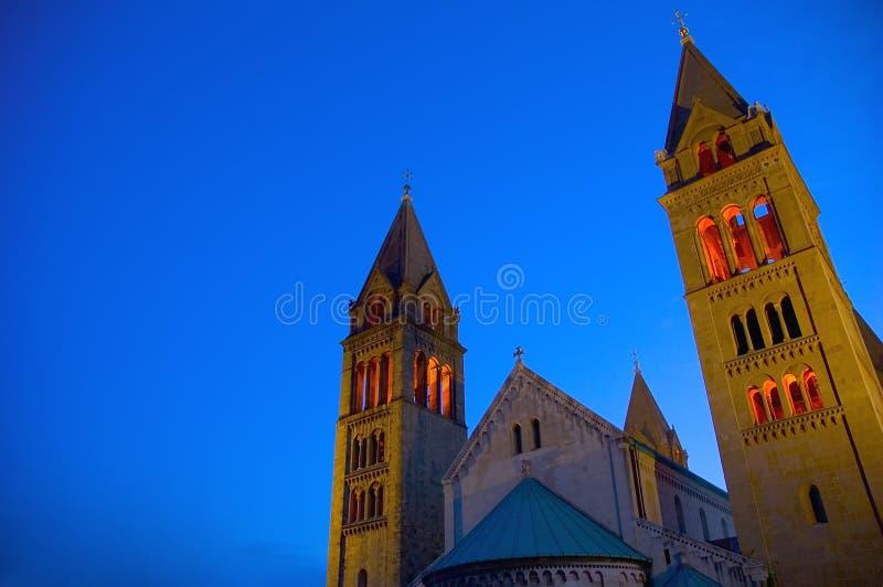 Cathédrale 2 de la Hongrie photos libres de droits