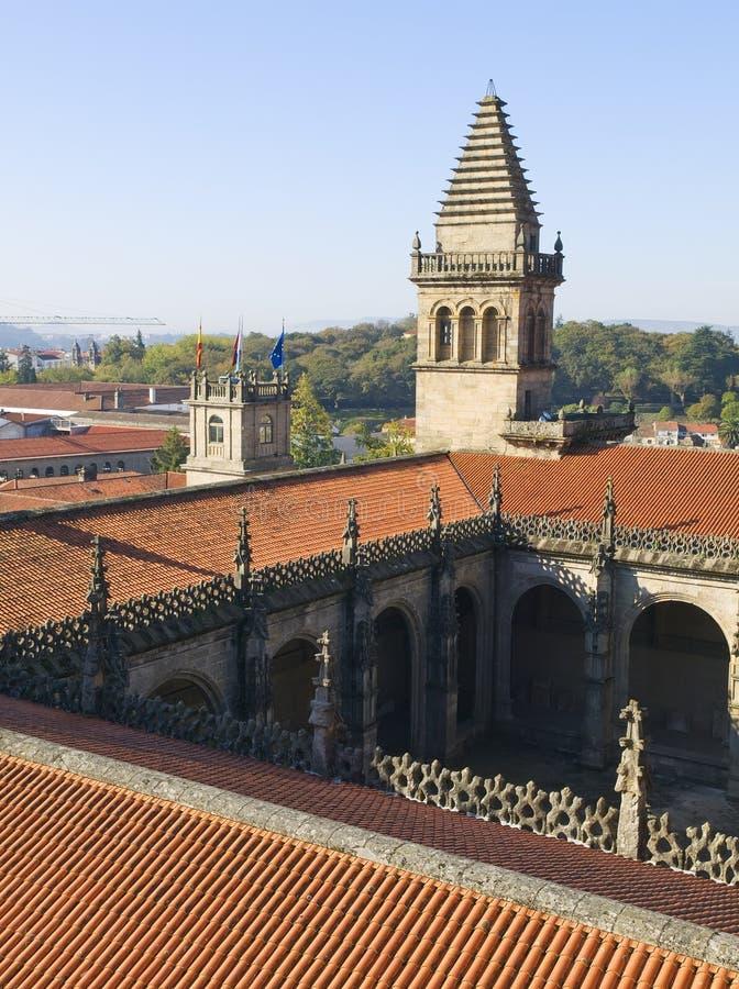 Cathédrale 2 de Santiago de Compostela photos libres de droits