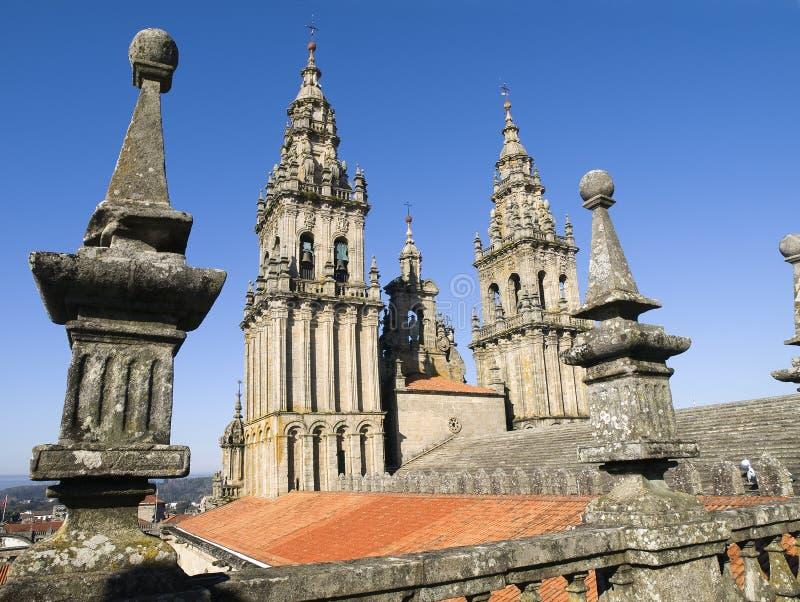 Cathédrale 3 de Santiago de Compostela photographie stock