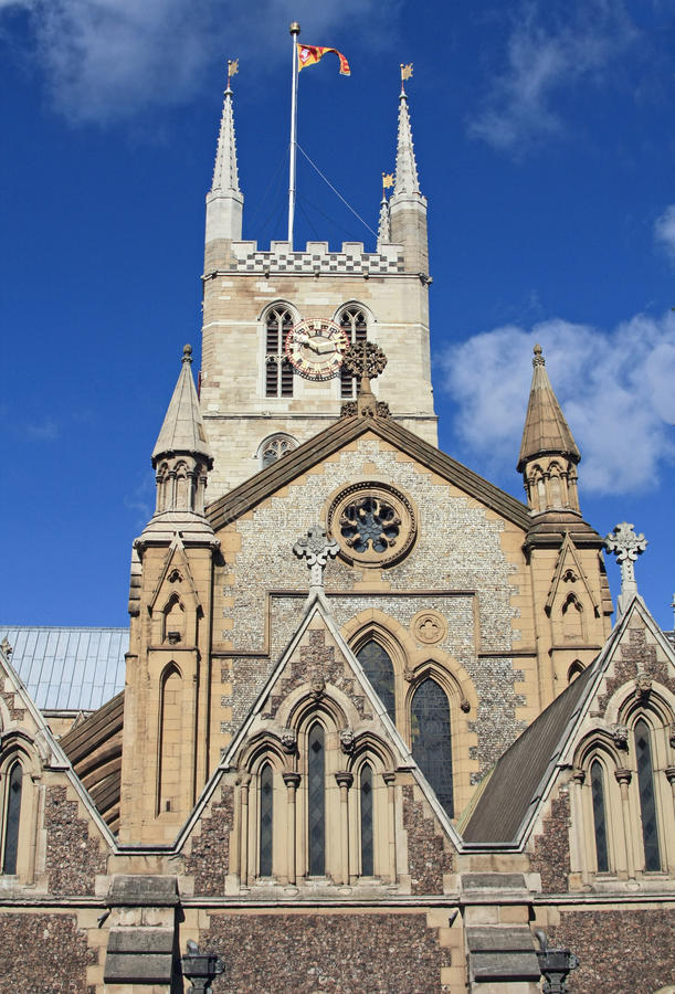 Cathédrale 3 de Southwark image stock