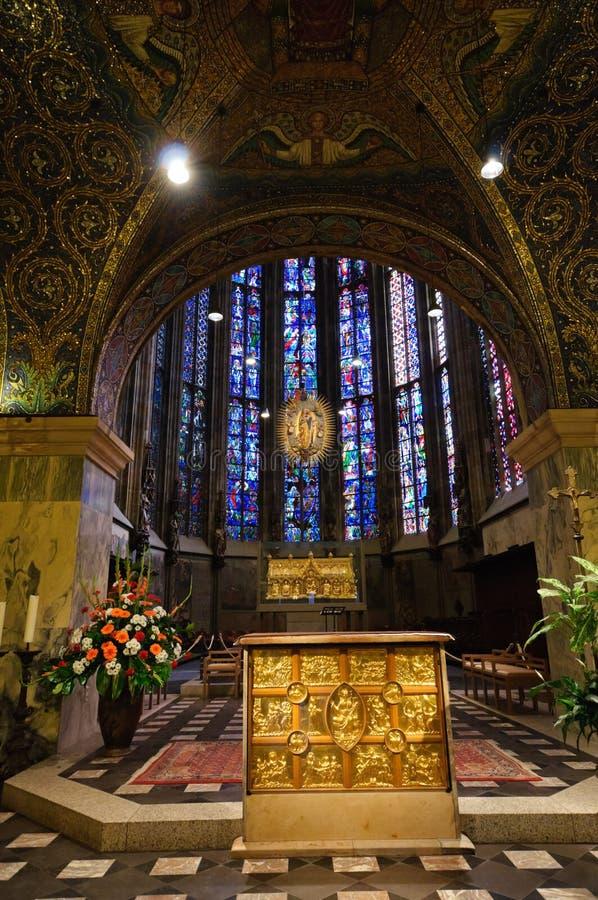 Cathédrale - Aix-la-Chapelle, Allemagne photo stock
