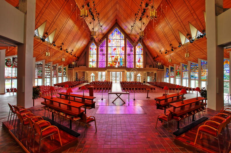 Cathédrale Auckland de trinité sainte image stock