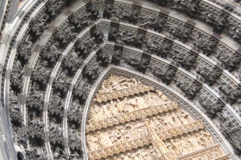 Cathédrale Célèbre De Cologne (les DOM De Kolner) Photo libre de droits