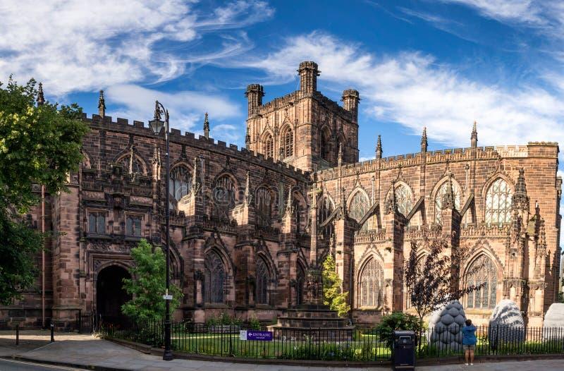 Cathédrale Cheshire de Chester photographie stock