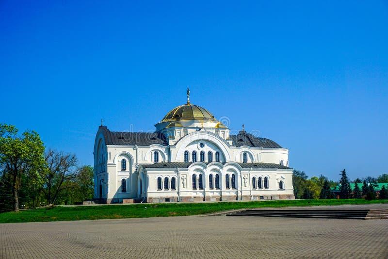 Cathédrale complexe de héros de forteresse de Brest image libre de droits