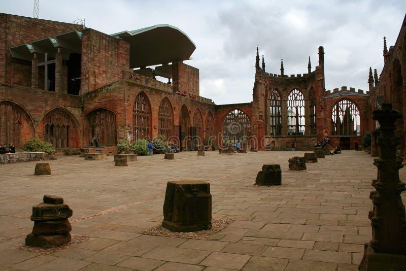 cathédrale Coventry images libres de droits