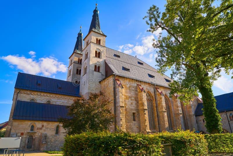 Cathédrale croisée sainte de Nordhausen en Allemagne photo libre de droits