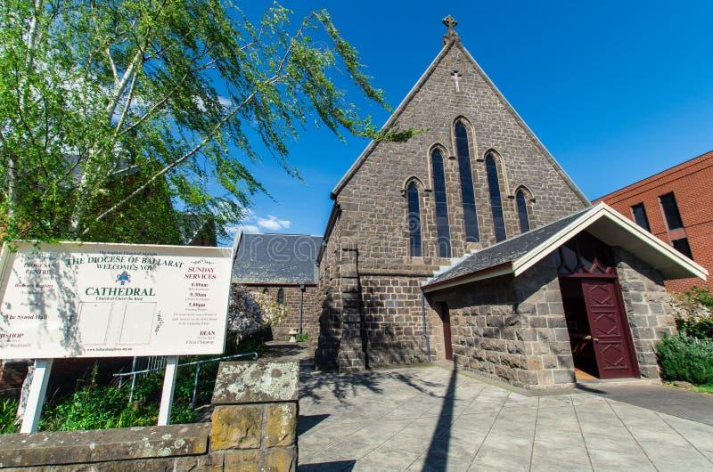 Cathédrale d'église du Christ dans Ballarat photo libre de droits