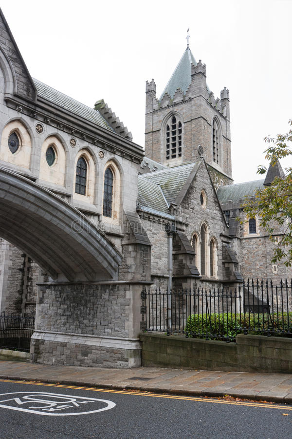 Cathédrale d'église du Christ. Dublin, Irlande photos libres de droits