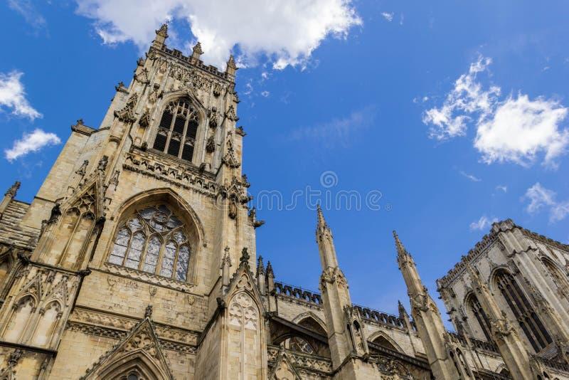 Cathédrale d'abbaye de York, North Yorkshire photos libres de droits