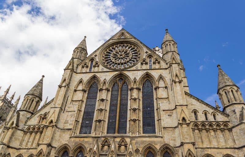 Cathédrale d'abbaye de York, North Yorkshire image stock