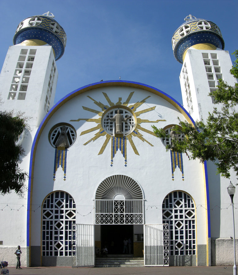 Cathédrale d'Acapulco image libre de droits