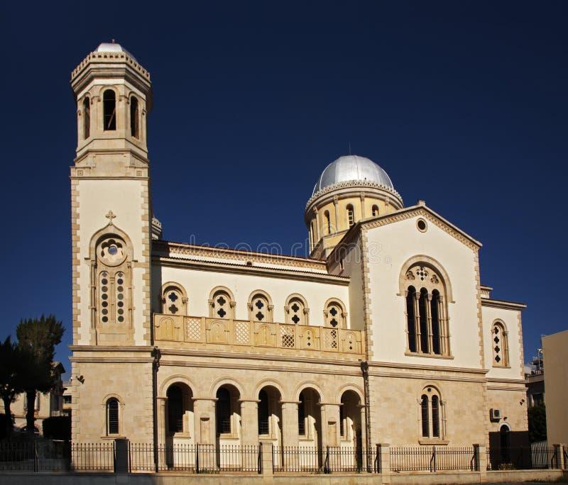Cathédrale d'Agia Napa à Limassol cyprus images libres de droits