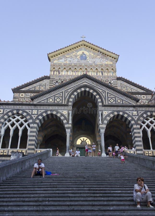 Cathédrale d'Amalfi photo libre de droits