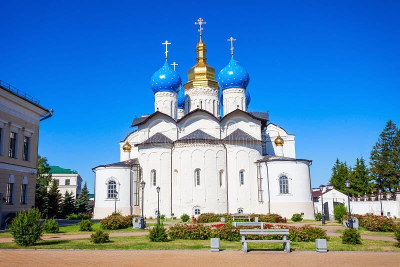 Cathédrale d'annonce, Kazan Kremlin photographie stock