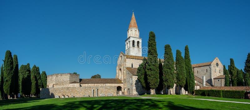 Cathédrale d'Aquileia images libres de droits