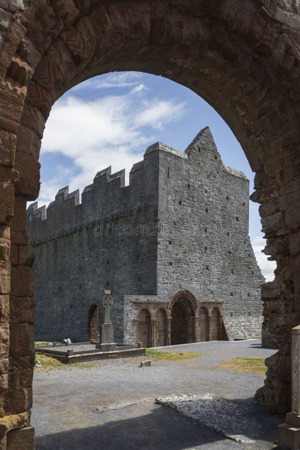 Cathédrale d'Ardfert - comté Kerry - Irlande images libres de droits