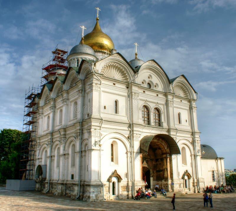 Cathédrale d'Arkhangel images libres de droits