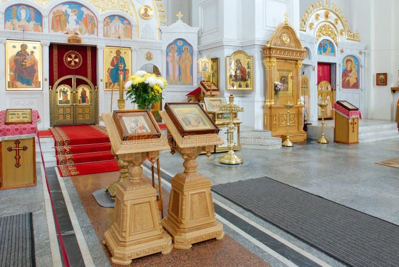 Cathédrale d'augmenter de la croix sainte photos stock