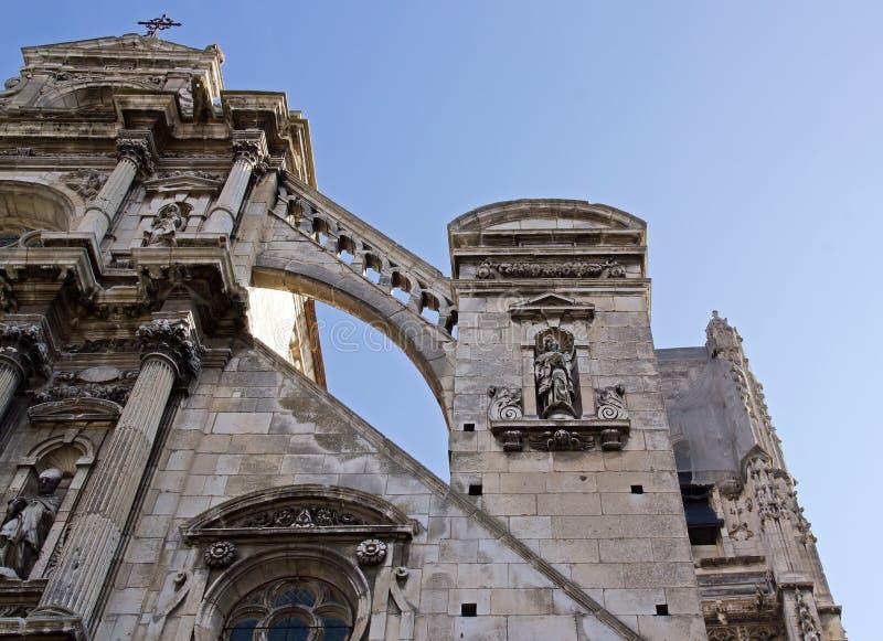 Cathédrale d'Auxerre photographie stock libre de droits