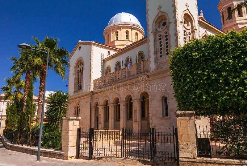 Cathédrale d'Ayia Napa à Limassol, île Chypre, l'Europe Jour lumineux ensoleill? d'?t? Le r?tro vintage a modifi? la tonalit? l'i photographie stock