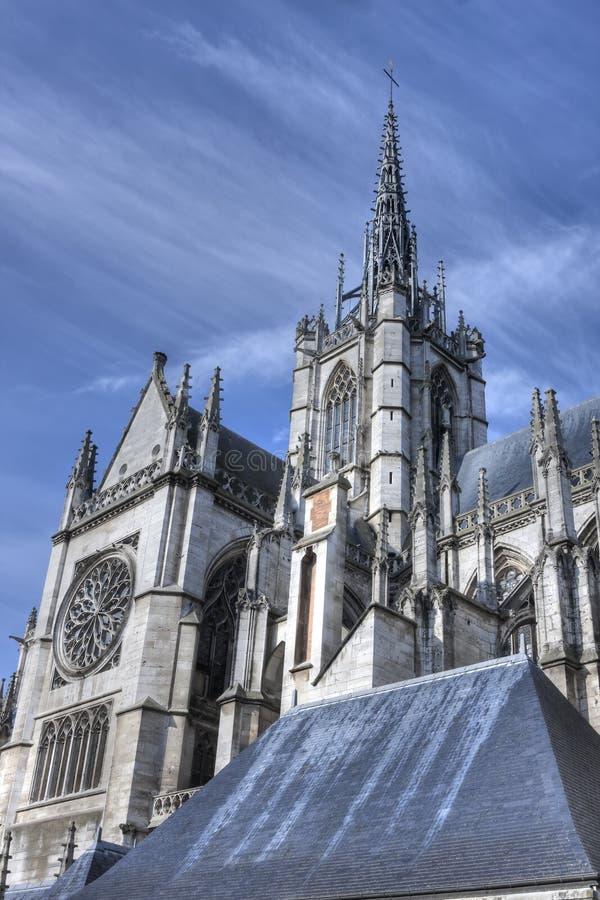 Cathédrale d'Evreux images libres de droits