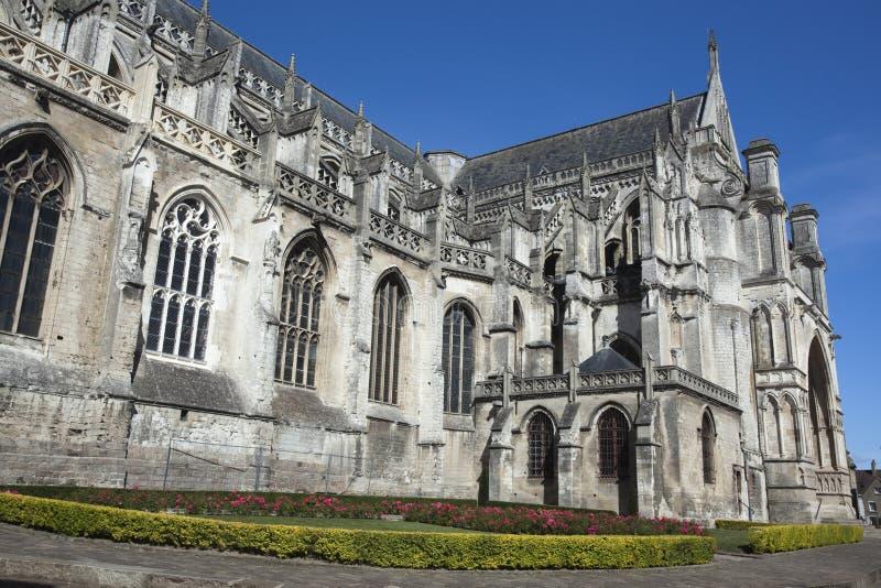Cathédrale d'Omer de saint, France photographie stock libre de droits