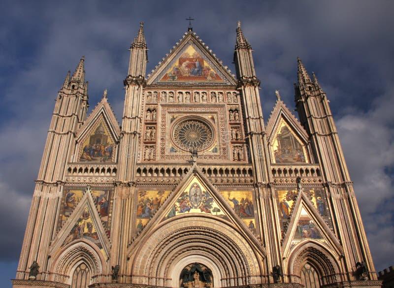 Cathédrale d'Orvieto photos stock