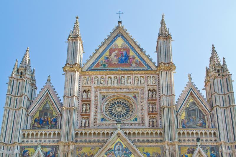 Cathédrale d'Orvieto photo libre de droits