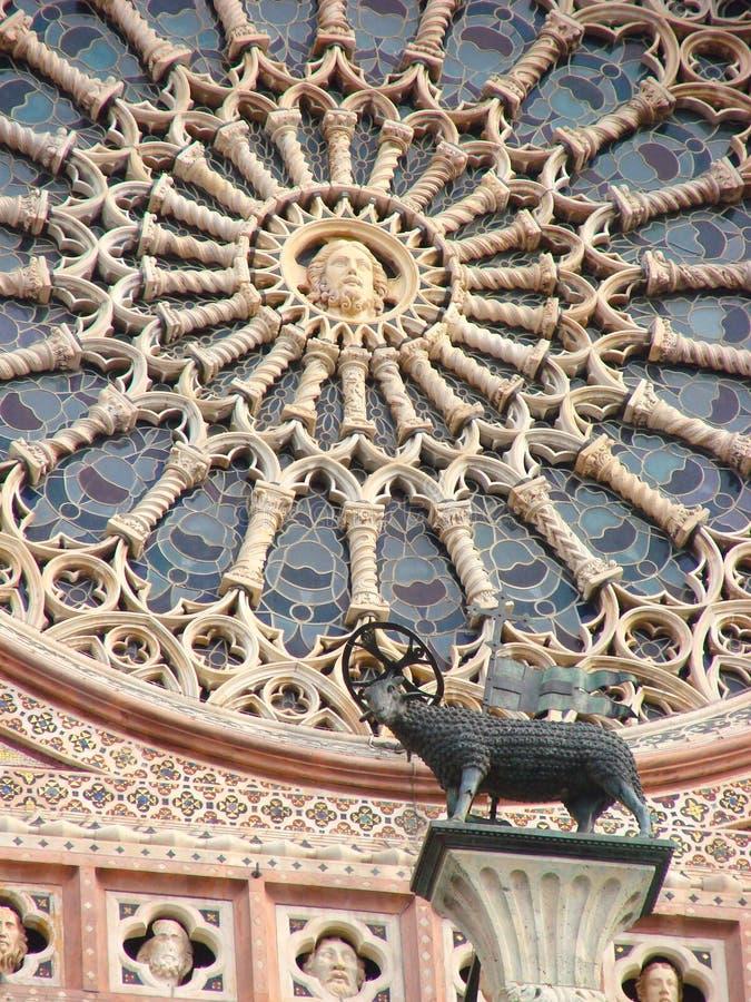 Cathédrale d'Orvieto images libres de droits