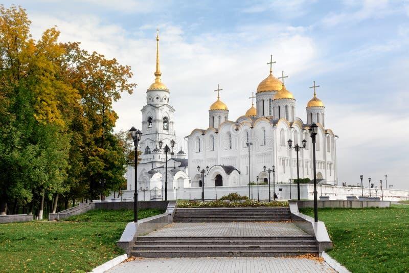 Cathédrale d'Uspensky dans Vladimir, Russie photo libre de droits