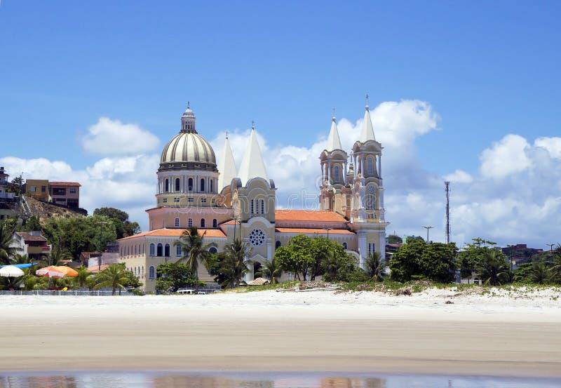 Cathédrale dans Ilheus brazil photographie stock