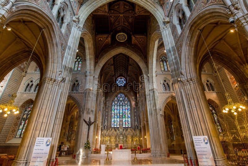 Cathédrale dans la ville d'Armagh photos libres de droits