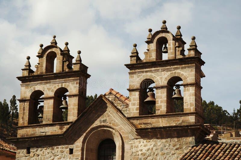 Cathédrale dans le Cuzco, Pérou photo stock