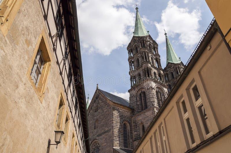 Cathédrale de Bamberg image libre de droits