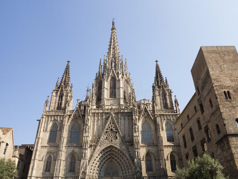 Cathédrale de Barcelone photographie stock libre de droits