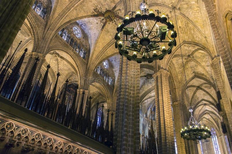 Cathédrale de Barcelone - Espagne images stock