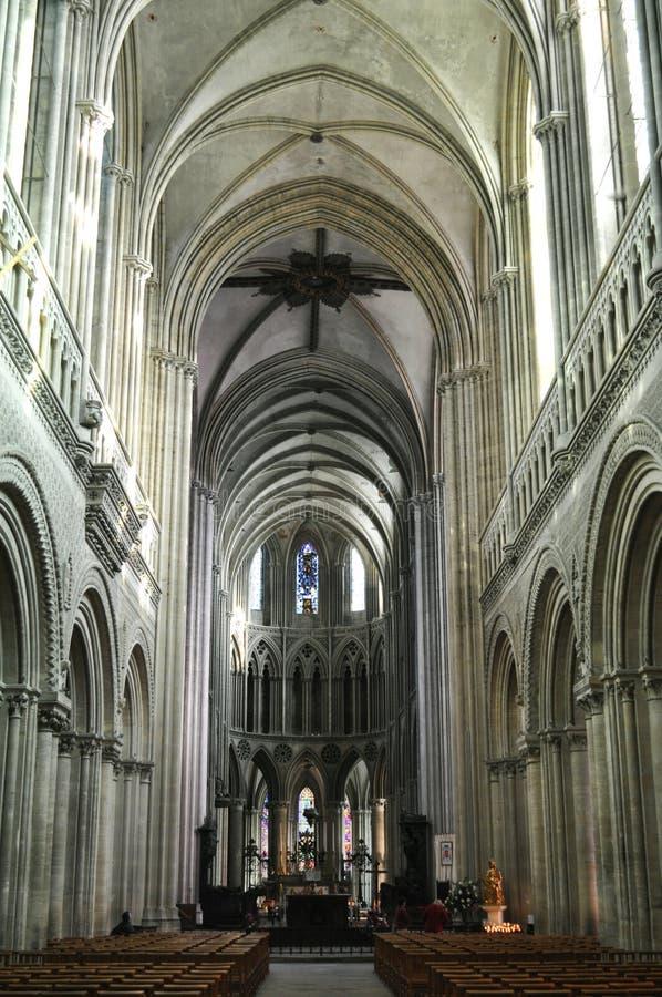 Cathédrale de Bayeux photo stock