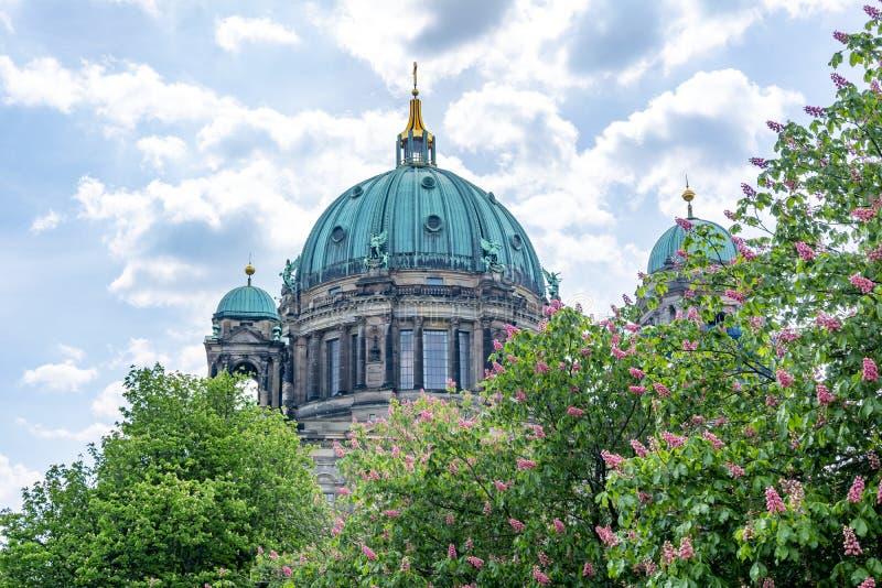 Cathédrale de Berlin Berliner Dom dome, Allemagne photo stock
