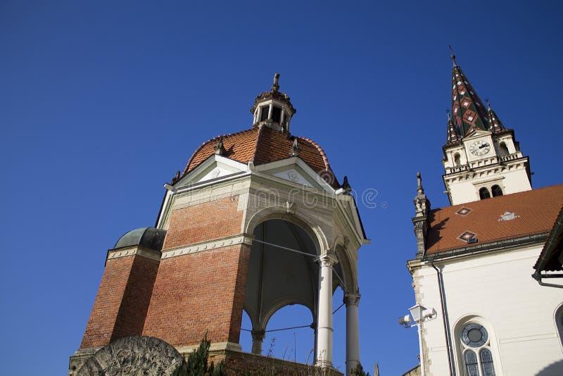 Cathédrale de bisrica de Marija photos libres de droits