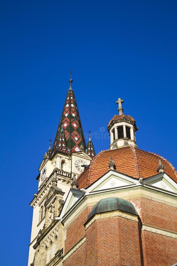 Cathédrale de bisrica de Marija photos stock