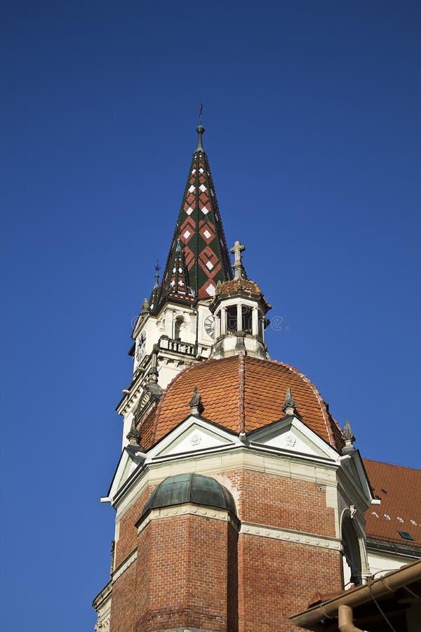 Cathédrale de bisrica de Marija photo stock