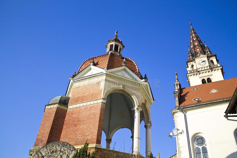 Cathédrale de bisrica de Marija images stock
