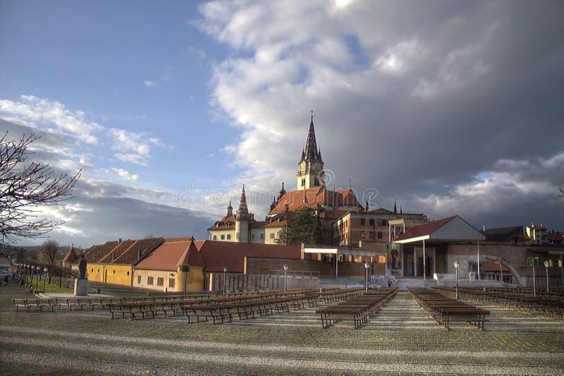 Cathédrale de bisrica de Marija images libres de droits