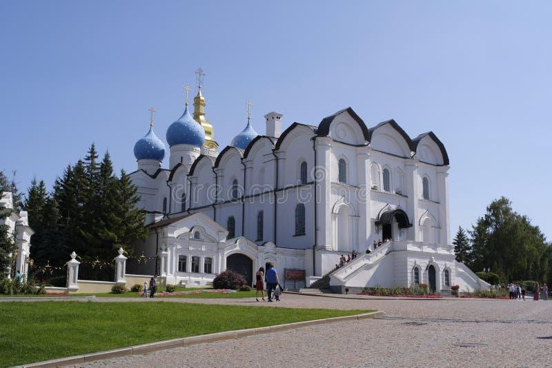 Cathédrale de Blagoveshchensky de Kazan Kremlin image libre de droits