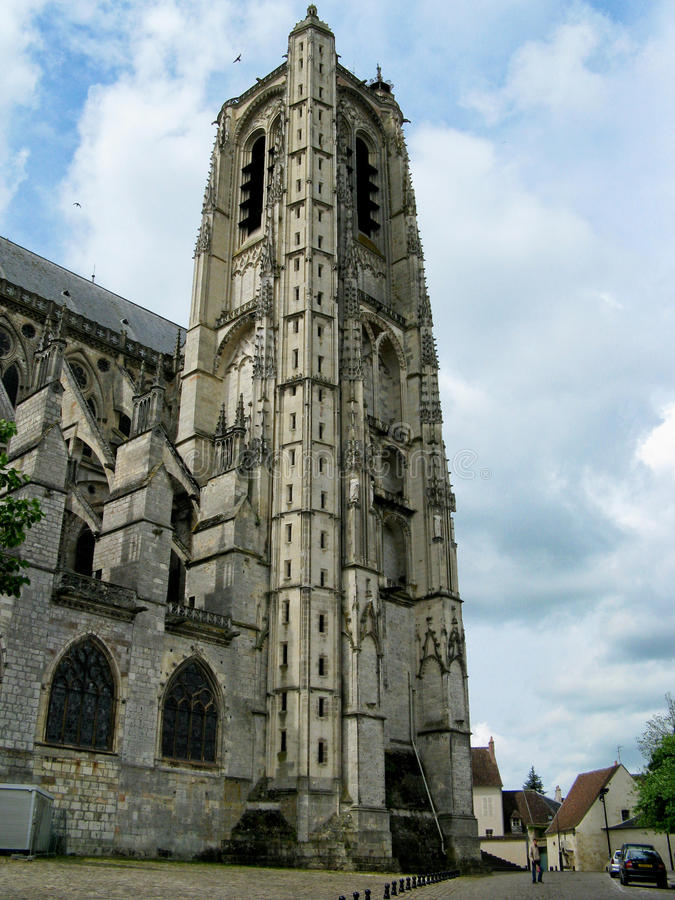 Cathédrale de Bourges photo stock