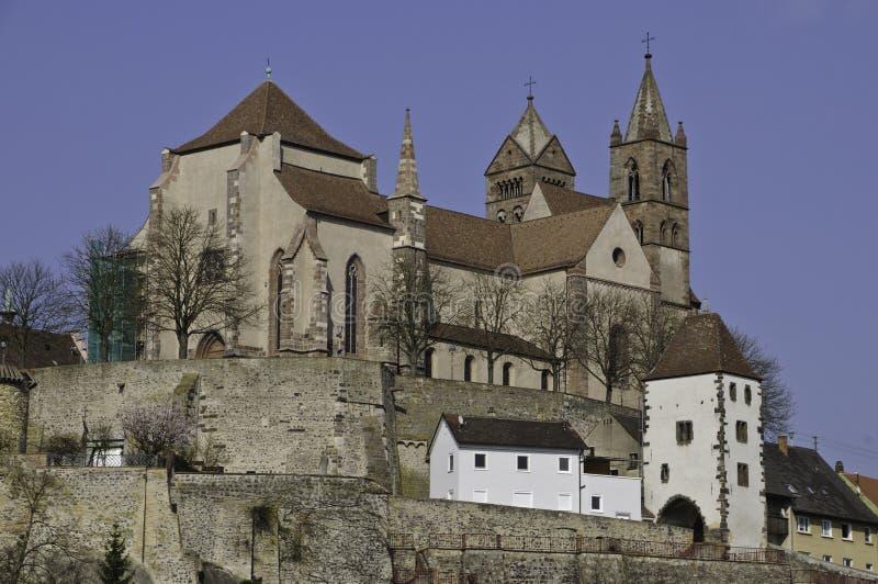 Cathédrale de Breisach photos libres de droits