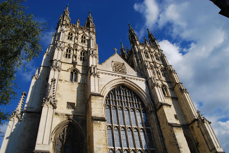 Cathédrale de Cantorbéry image libre de droits