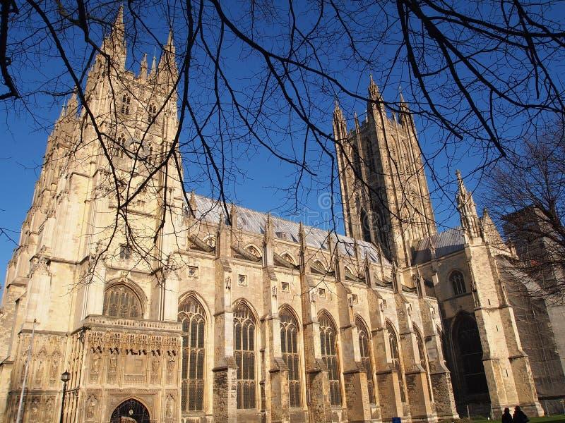 Cathédrale de Cantorbéry, Kent, Angleterre photos stock
