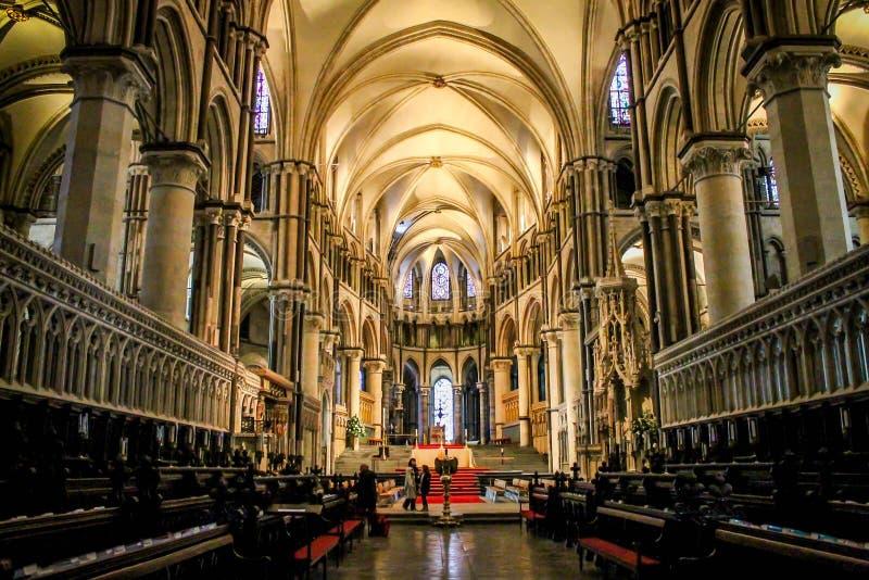 Cathédrale de Cantorbéry, Kent, Royaume-Uni image libre de droits
